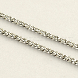 304 Stainless Steel Curb Chains US-CHS-R008-04