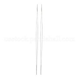 Iron Big Eye Beading Needles US-TOOL-R095-01