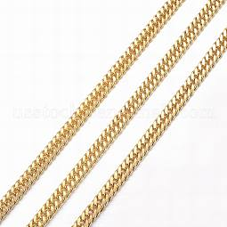 Vacuum Plating 304 Stainless Steel Cuban Link Chains US-CHS-H007-69G