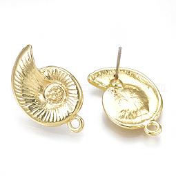 Alloy Stud Earring Findings US-PALLOY-S121-56
