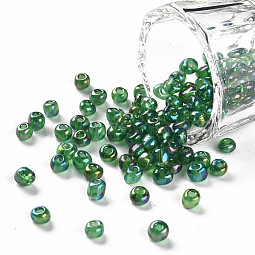 Round Glass Seed Beads US-SEED-A007-4mm-167B