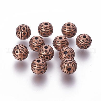 Tibetan Style Zinc Alloy BeadsUS-PALLOY-ZN191-R-FF-1