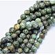 Natural African Turquoise(Jasper) Beads StrandsUS-TURQ-G037-8mm-4