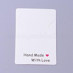 Cardboard Necklace Display Cards US-CDIS-F002-11B