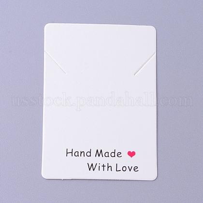 Cardboard Necklace Display CardsUS-CDIS-F002-11B-1