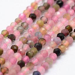 Natural Tourmaline Beads Strands US-G-K185-14B