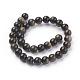 Natural Golden Sheen Obsidian Beads StrandsUS-G-C076-6mm-5-2