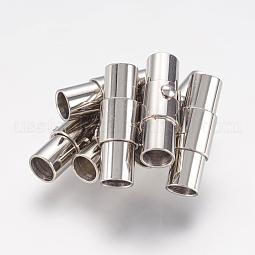Smooth 304 Stainless Steel Magnetic Screw Clasps US-STAS-H019-2