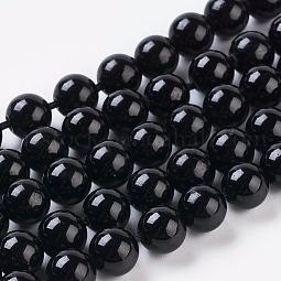 Natural Tourmaline Beads Strands US-G-G099-6mm-11