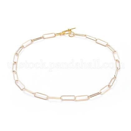 Chain NecklacesUS-NJEW-JN02759-02-1