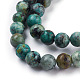 Natural African Turquoise(Jasper) Beads StrandsUS-TURQ-G037-8mm-3