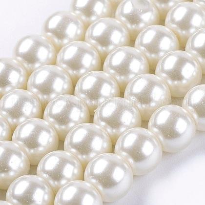 Glass Pearl Beads StrandsUS-HY-8D-B02-1