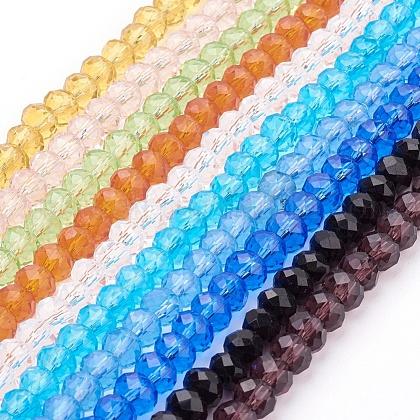 Handmade Glass Glass BeadsUS-GR8MMY-1