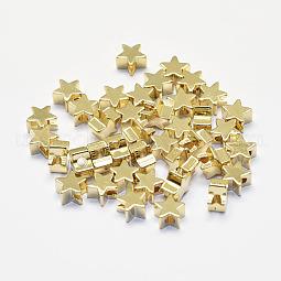 Long-Lasting Plated Brass Beads US-KK-K193-A-056G-NF
