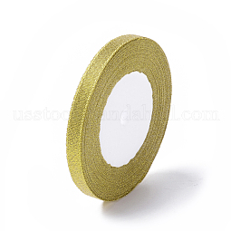 Glitter Metallic Ribbon US-RS10mmY-G
