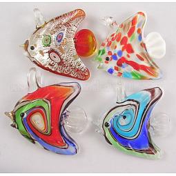 Lampwork Glass Pendants US-SLSP114