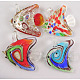 Lampwork Glass Pendants US-SLSP114-1